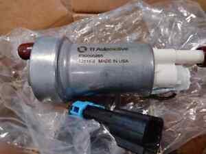NEW Walbro F90000285 470 / 525LPH IN-TANK FUEL PUMP W/FITTING KIT Fuel