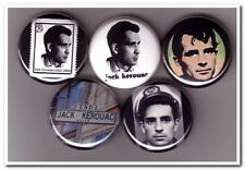 JACK KEROUAC Buttons Pins Badges beatnik / on the road / ginsberg burroughs