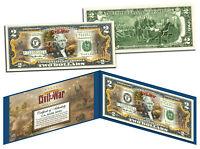 BATTLE OF ANTIETAM American CIVIL WAR Genuine Legal Tender U.S. $2 Bill