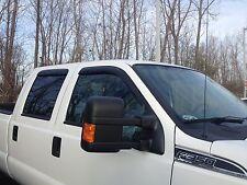 Ford F250-F550 Super Crew Window Vent Deflector Rain Visor 1999-2016 JSP 218077