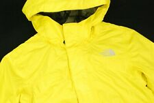 The North Face Hyvent Full Zip Parka Jacket Bright Yellow Youth Boys S 7 8