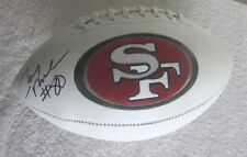 JERRY RICE AUTOGRAPHED SIGNED SAN FRANCISCO 49ers LOGO FOOTBALL BECKETT COA