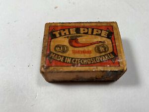 Vintage The Pipe - Coca Cola RARE Match Box Made in Czechoslovakia
