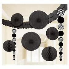 Décorations de fête noirs Amscan pour la maison toutes occasions
