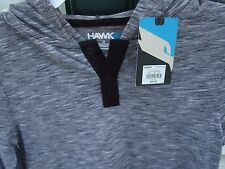 NWT Tony Hawk Light Weight Hoodie Youth M Black White Gray