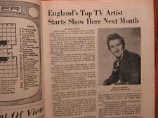 Apr-1970 Lancaster Pa TV Maga(DES O'CONNOR/WHALE HUNTERS OF FAYAL/ART LINKLETTER