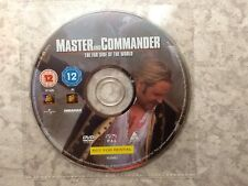 Master And Commander The Far Side Of The World - Dvd (2004) DISC ONLY - Free P&P