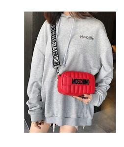 2020 NEW MOSCHINO Handbag Letter Messenger Shoulder Bag Women Free shipping