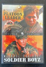 Micheal Dudikoff Double Feature 'Platoon Leader' and 'Soldier Boyz'