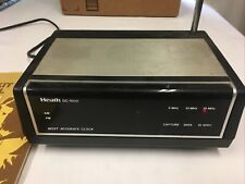 Heathkit GC-1000 Most Accurate Clock WWV Shortwave with manual and schematics