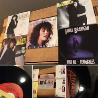 LOT OF 5 LAURA BRANIGAN 45 Rpm VINYL SINGLE RECORDS