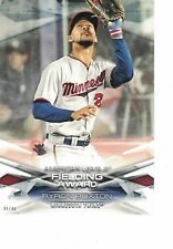 2018 Topps Awards 5x7 #/49 Byron Buxton Minnesota Twins Golden Glove Award