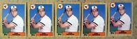 Cal Ripken Baltimore Orioles 1987 Topps #784 5ct Card Lot