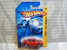 2007 HOT WHEELS ''NEW MODELS''  #007 = DODGE CHARGER SRT8 = BURGANDY orange wing
