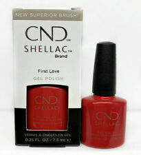 Cnd Shellac Gel Polish Treasured Moment Collection First Love 0.25 oz