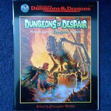 Segrete di disperazione Advanced Dungeons and Dragons Avventura Dungeons and Dragons Modulo TSR11444