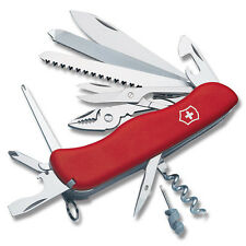 Victorinox Swiss Army Red WorkChamp Work Champ Locking Knife 53761