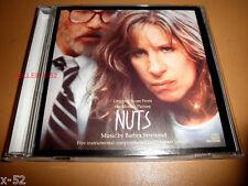 NUTS soundtrack CD Barbra STREISAND score RARE ost Jeremy Lubbock Randy Waldman