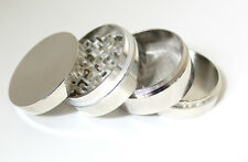 53mm 4 Part Herb CNC Aluminium Grinder + Free P&P