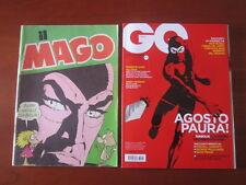 """DIABOLIK IN COPERTINA """" IL MAGO """" (1976) + """" GQ ITALIA """" (2013) IN OTTIMO STATO!"""