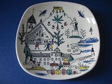 Stavangerflint Sammelteller Norway Norwegen Pottery Inger Waage plate Ålesund