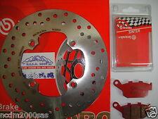 -disco freno Brembo pastiglie Posteriori Buell 1200 S3 Thunderbolt 98 02 780