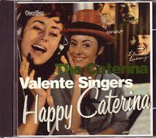 CATERINA VALENTE – Happy Caterina/The Caterina Valente Singers (Vocalion, UK)