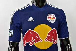 2012 adidas New York Red Bulls Away Shirt MLS Jersey SIZE S adults-MEN'S