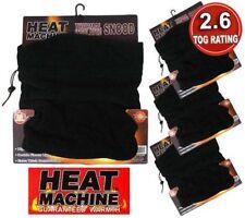 Calentador de cuello unisex polar Redecilla aislamiento térmico 2.6 tog calentador del cuello Snoods.
