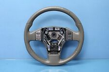 2004 INFINITI G35 4DR #2 LEATHER STEERING WHEEL BEIGE