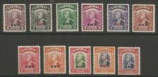 Sarawak GVI 1948 BMA ovpts cat £70