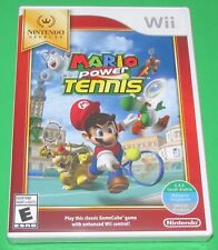 Mario Power Tennis Nintendo Wii Factory Sealed