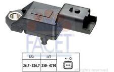 FACET Sensor, presión de sobrealimentación CITROEN FIAT PEUGEOT FORD 10.3136