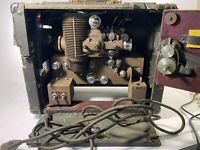 Vintage Bell And Howell 16mm Filmosound Utility Projector And Filmed Edit SetUp