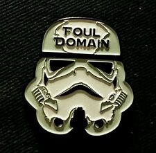 Foul Domain Stormtrooper Pin Phish Star Wars Tela Gamehendge anastasio fishman