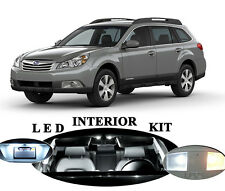 LED Package - Interior + License Plate + Vanity for Subaru Outback (10 pieces)