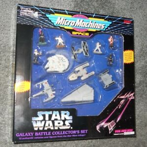 Micromachines Star Wars Galaxy Battle Collector's Set Special Limited Edition