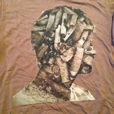 WOMEN'S NEW DAN MOUNTFORD BLOOD IS THE NEW BLACK T SHIRT LARGE URBAN OUTFITTERS