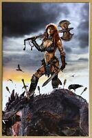 Red Sonja Birth of the She-Devil #1 Gallagher VIRGIN Variant LTD 500 GEMINI
