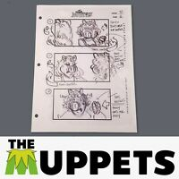 THE MUPPETS - Production Used Storyboard - Miss Piggy 92-6