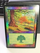 Forest 349/350 Foil Land Odyssey MTG Magic The Gathering English  FOIL