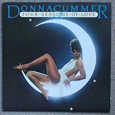 Donna Summer - Four Seasons Of Love - 1976 UK vinyl LP + inner + calendar insert