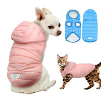 Cold Winter Dog Coat for Small Dogs Chihuahua Clothes Pet Puppy Warm Jacket Pug
