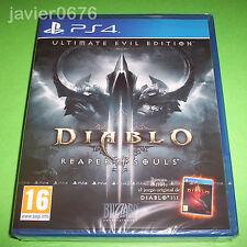 DIABLO III REAPER OF SOULS  NUEVO Y PRECINTADO PAL ESPAÑA PLAYSTATION 4 PS4