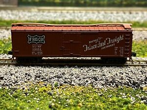 N Scale - Kadee FRISCO 40' Single Door Wood Boxcar SL-SF 126053 N2639