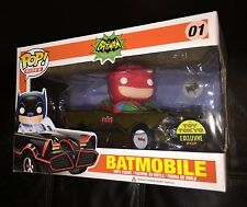 SDCC 2014 FUNKO POP CLASSIC TV 1966 BATMAN BATMOBILE Toy Tokyo Adam West RARE!