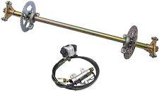 "New listing 29"" Trike Drift Go Kart Rear Axle Kit Disc Rotor Sprocket Wheel Hub Quad Buggy"
