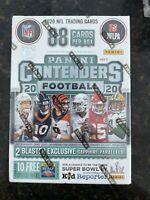 (1) FANATICS 2020 NFL PANINI CONTENDERS ONLINE EXCLUSIVE BLASTER BOX SEALED 🔥📈