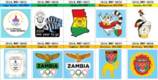 pre 2020 Tokyo Olympic Games pins for 8 African NOC, choose one