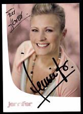 Jennifer Autogrammkarte Original Signiert ## BC 47192